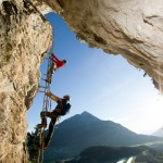 Klettern: Steinwand in Arzl